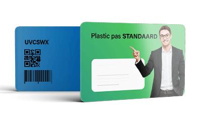 Plastic pas Glans gelamineerd